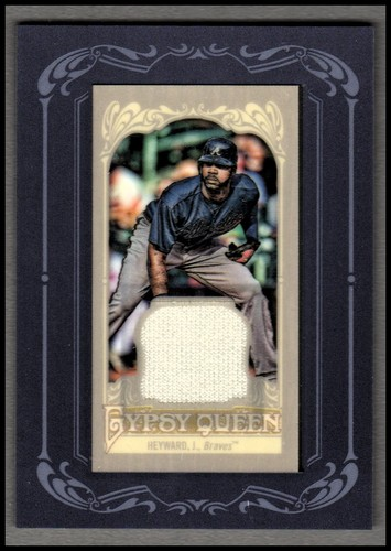 Photo of 2012 Topps Gypsy Queen Framed Mini Relics #JHE Jason Heyward