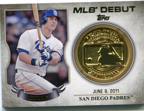 Photo of 2016 Topps MLB Debut Medallion #MLBDM216 Anthony Rizzo S2