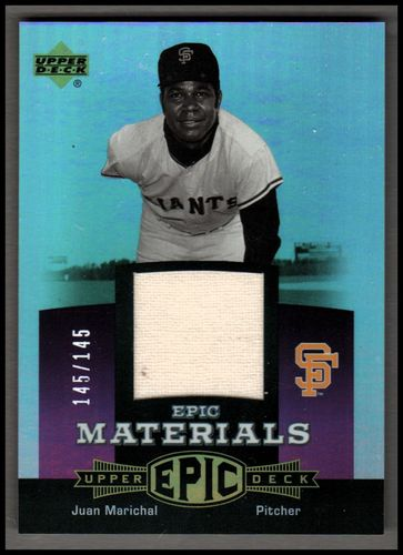 Photo of 2006 Upper Deck Epic Materials Light Purple #JM Juan Marichal Jsy/145