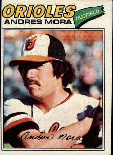Photo of 1977 Topps #646 Andres Mora RC