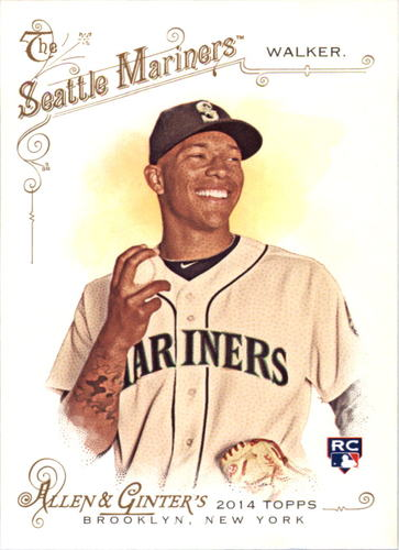 Photo of 2014 Topps Allen and Ginter #64 Taijuan Walker RC
