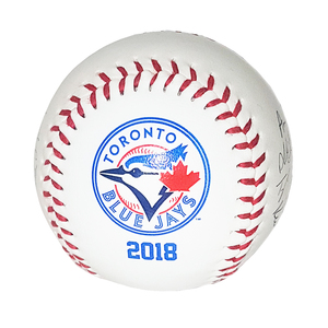 Toronto Blue Jays 2018 Printed Team Autographed Baseball by Rawlings