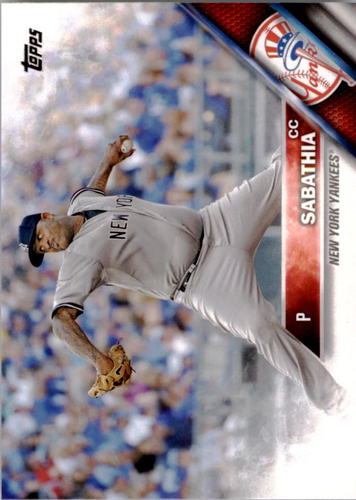Photo of 2016 Topps #142 CC Sabathia