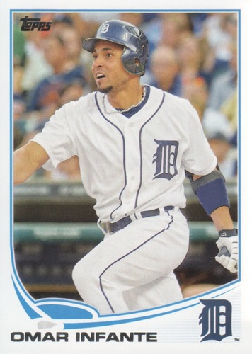Photo of 2013 Topps #516 Omar Infante