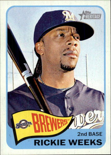 Photo of 2014 Topps Heritage #353 Rickie Weeks