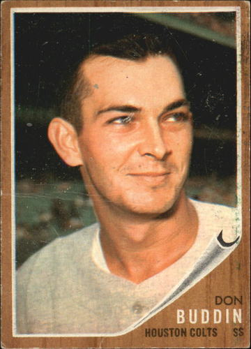 Photo of 1962 Topps #332 Don Buddin