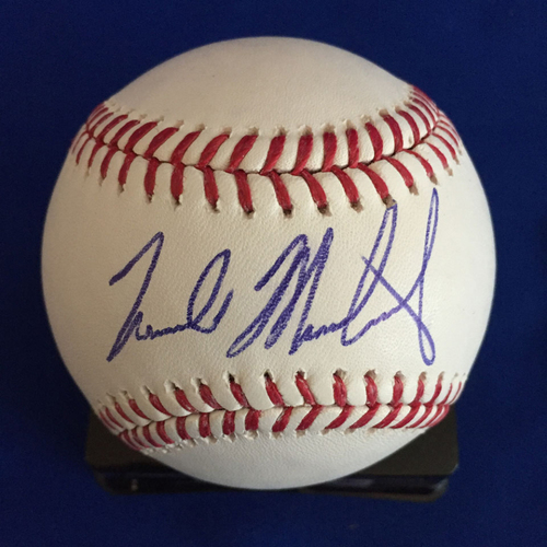 Photo of UMPS CARE AUCTION: Nick Markakis Signed baseball