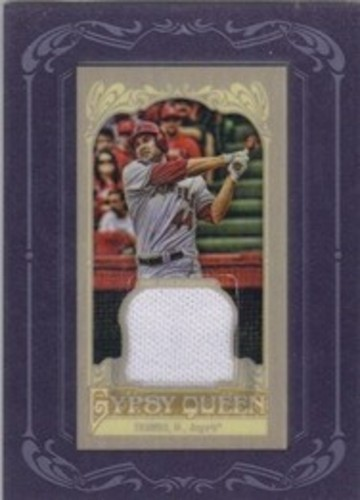 Photo of 2012 Topps Gypsy Queen Framed Mini Relics #MT Mark Trumbo
