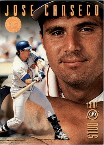 Photo of 1996 Studio Bronze Press Proofs #53 Jose Canseco