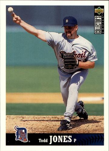 Photo of 1997 Collector's Choice #324 Todd Jones