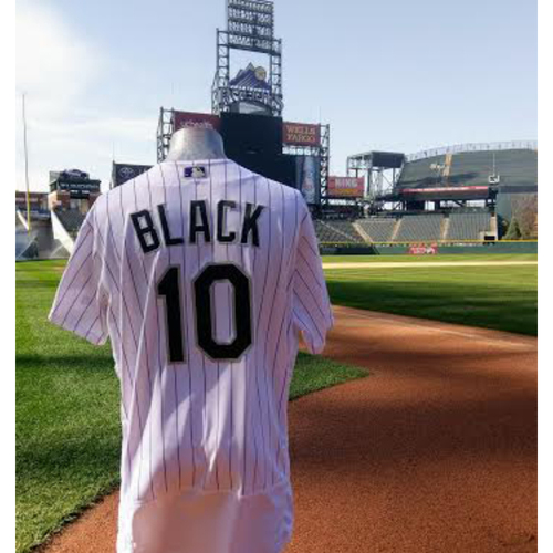 Colorado Opening Day Bud Black Jersey