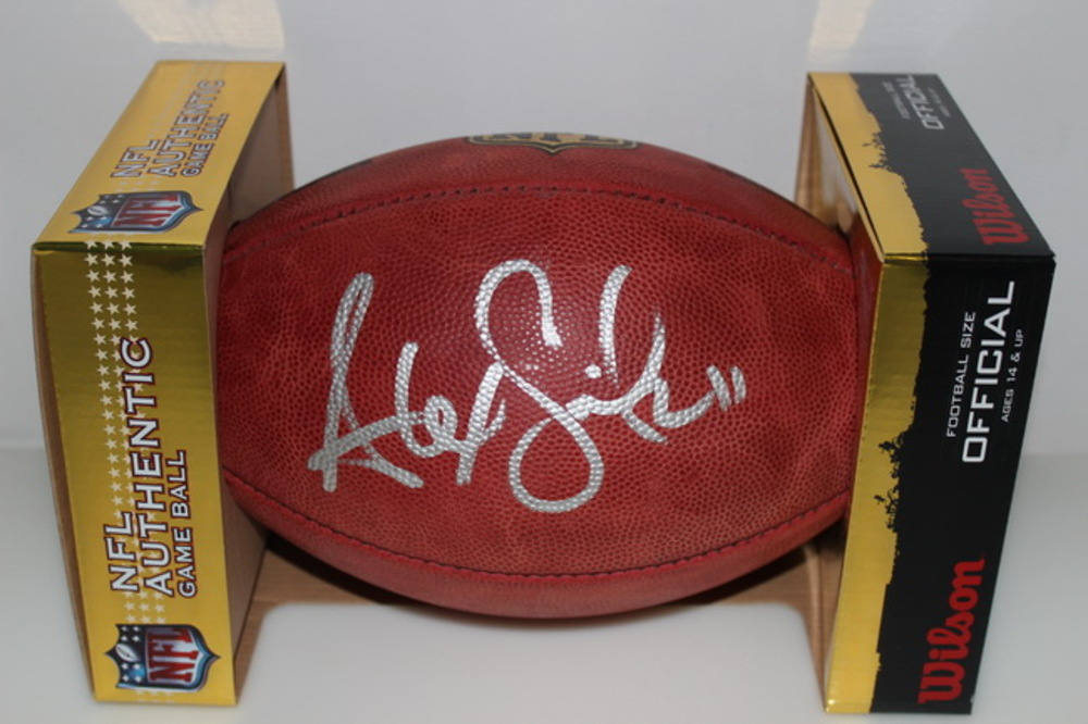 CHIEFS - ALEX SMITH SIGNED AUTHENTIC FOOTBALL