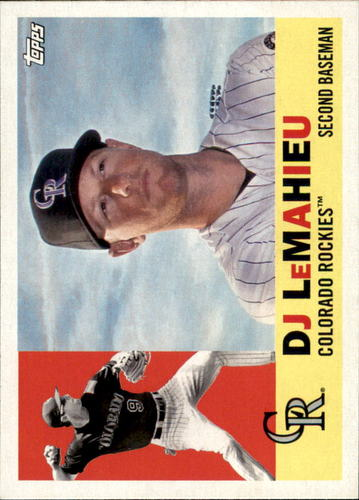 Photo of 2017 Topps Archives #8 DJ LeMahieu