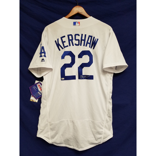 Photo of Kershaw's Challenge: Clayton Kershaw Autographed Home Jersey