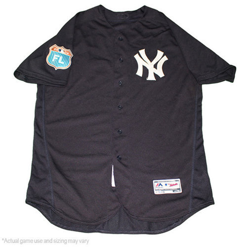 Photo of Luis Severino New York Yankees 2017 Spring Training Home Game-Used #40 Jersey (48)