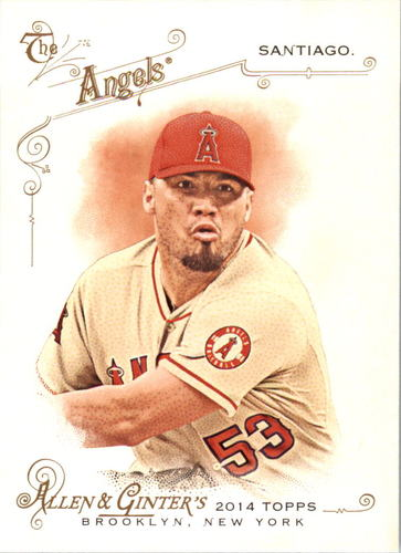 Photo of 2014 Topps Allen and Ginter #7 Hector Santiago