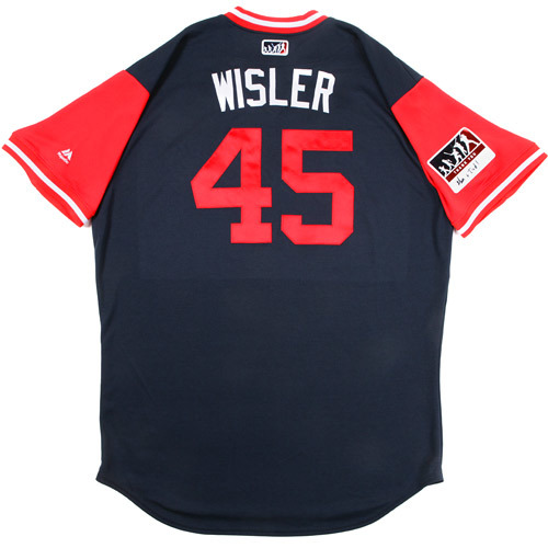 "Photo of Matt ""Wisler"" Wisler Atlanta Braves Game-Used Players Weekend Jersey"