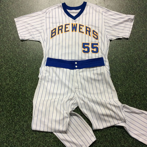 Photo of Marcus Hanel 1982 Reunion Weekend Game-Used Uniform