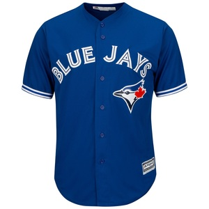 Toronto Blue Jays Big & Tall Cool Base Replica Alternate Jersey by Majestic