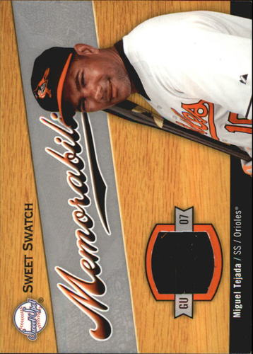 Photo of 2007 Sweet Spot Sweet Swatch Memorabilia #TE Miguel Tejada