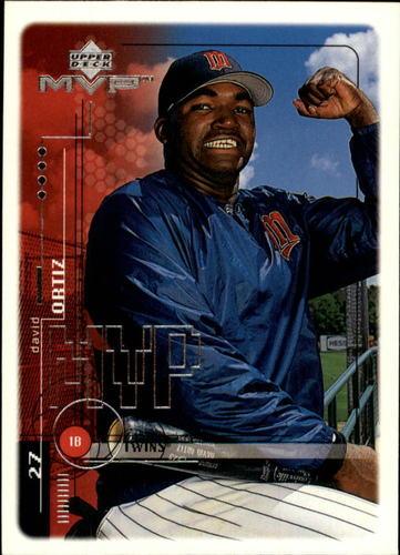 Photo of 1999 Upper Deck MVP #121 David Ortiz