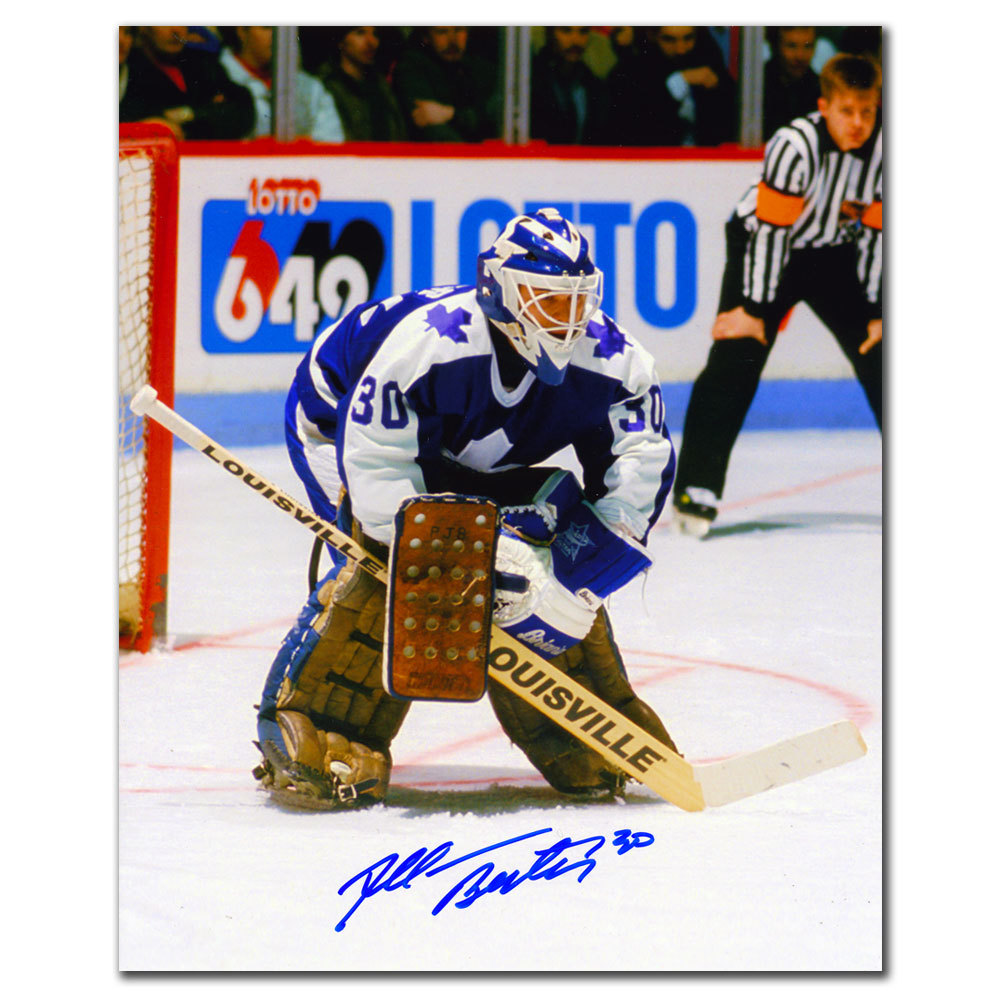 Allan Bester Toronto Maple Leafs Autographed 8x10