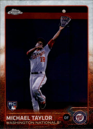 Photo of 2015 Topps Chrome #43 Michael Taylor RC
