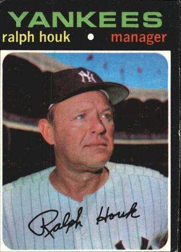 Photo of 1971 Topps #146 Ralph Houk MG