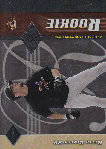 Photo of 2001 Leaf Limited #326 Keith Ginter Bat/125