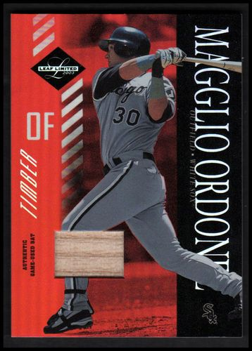 Photo of 2003 Leaf Limited Timber #60 Magglio Ordonez A