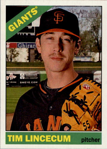 Photo of 2015 Topps Heritage #96 Tim Lincecum
