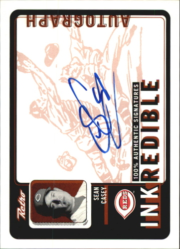 Photo of 1999 Upper Deck Retro Inkredible #SC Sean Casey