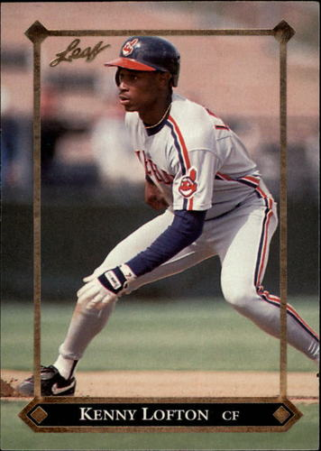 Photo of 1992 Leaf Gold Rookies #BC4 Kenny Lofton