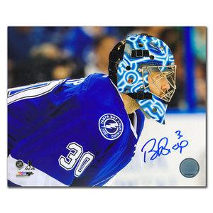 Ben Bishop Tampa Bay Lightning CLOSE UP Autographed 16X20