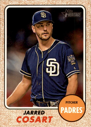 Photo of 2017 Topps Heritage #345 Jarred Cosart
