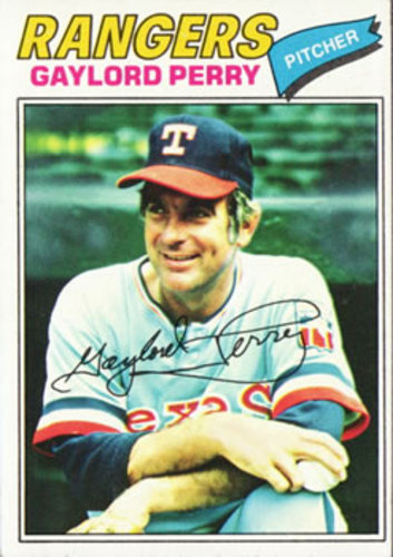 Photo of 1977 Topps #152 Gaylord Perry