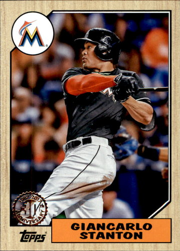 Photo of 2017 Topps '87 Topps #872 Giancarlo Stanton
