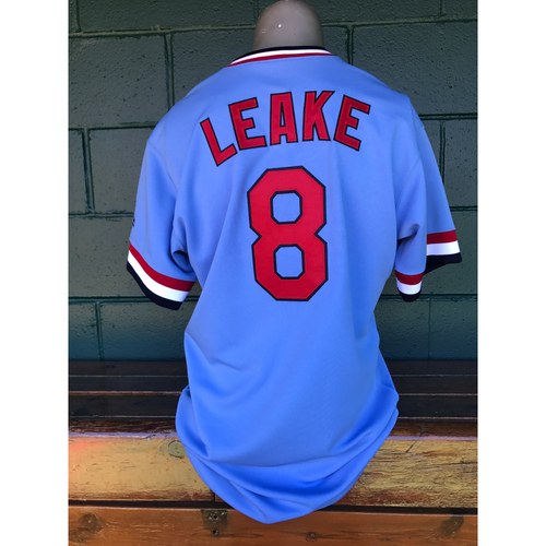 Cardinals Authentics: Mike Leake Game Worn 1984 Turn Back the Clock Uniform