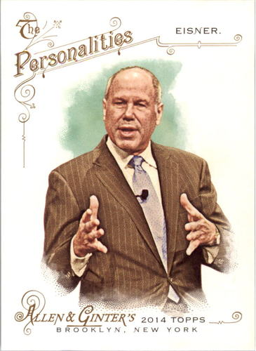 Photo of 2014 Topps Allen and Ginter #22 Michael Eisner
