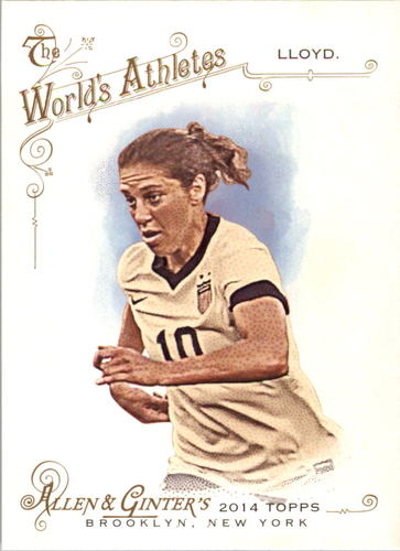 Photo of 2014 Topps Allen and Ginter #214 Carli Lloyd