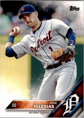 Photo of 2016 Topps #144 Jose Iglesias