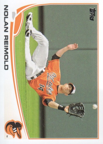 Photo of 2013 Topps #518 Nolan Reimold