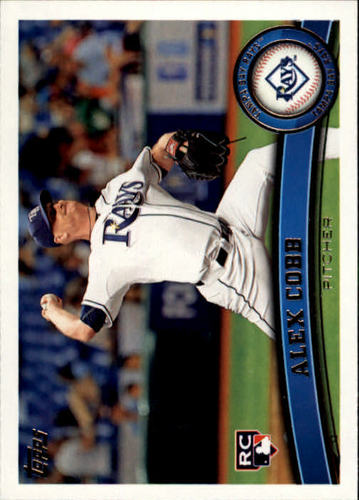Photo of 2011 Topps Update #US159 Alex Cobb RC