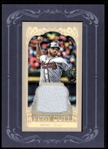 Photo of 2012 Topps Gypsy Queen Framed Mini Relics #THA Tommy Hanson