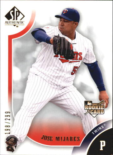 Photo of 2009 SP Authentic Gold #151 Jose Mijares