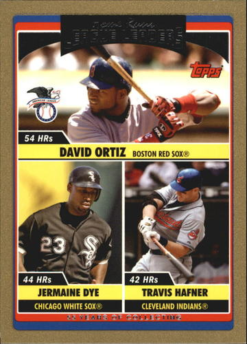 Photo of 2006 Topps Update Gold #202 D.Ortiz/J.Dye/T.Hafner LL