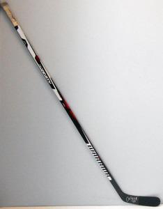 #55 Christian Ehrhoff Game Game Used Stick - Autographed - Chicago Blackhawks