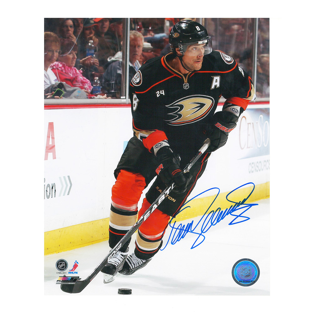 TEEMU SELANNE Signed Anaheim Ducks 8 X 10 Photo - 70010