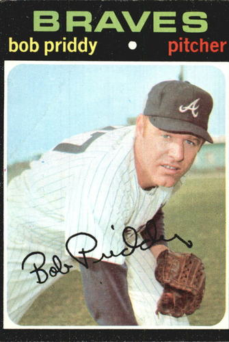 Photo of 1971 Topps #147 Bob Priddy