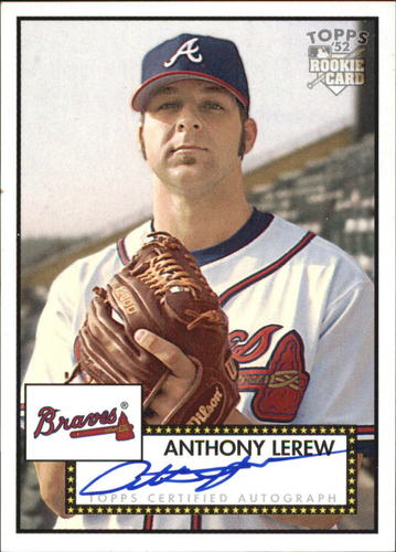 Photo of 2006 Topps 52 Signatures #AL Anthony Lerew H